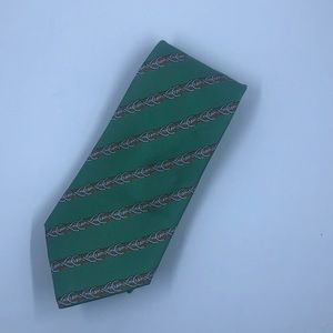 Authentic Hermes Tie, 100% silk. Made in France.